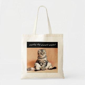Bolso de compras del gato del doblez del escocés