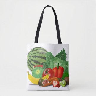Bolso de compras del Veggie