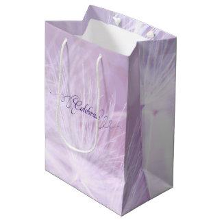 Bolso de encargo del regalo del cumpleaños adulto bolsa de regalo mediana