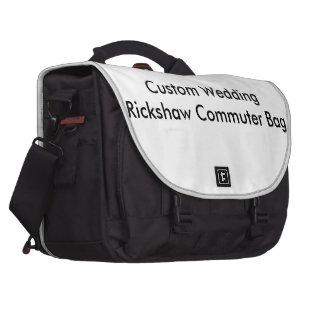 Bolso de encargo del viajero del carrito del boda bolsas para ordenador