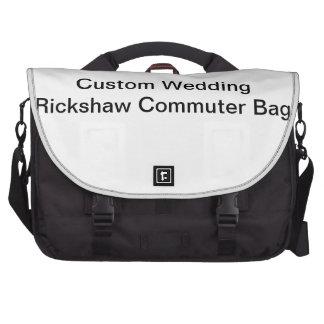 Bolso de encargo del viajero del carrito del boda bolsa de ordenador