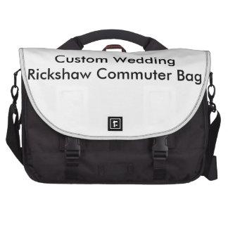 Bolso de encargo del viajero del carrito del boda bolsa para ordenador