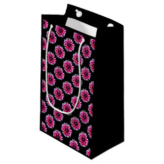 Bolso de encargo floral del regalo - pequeño, bolsa de regalo pequeña