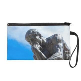 Bolso De Fiesta Estatua del pensador de Rodin