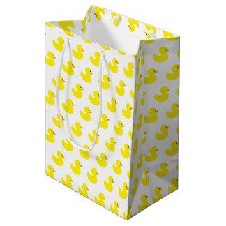 Bolso de goma del regalo del modelo del pato bolsa de regalo mediana