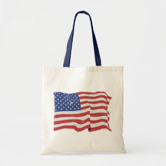 Bolso de la bandera americana del vintage