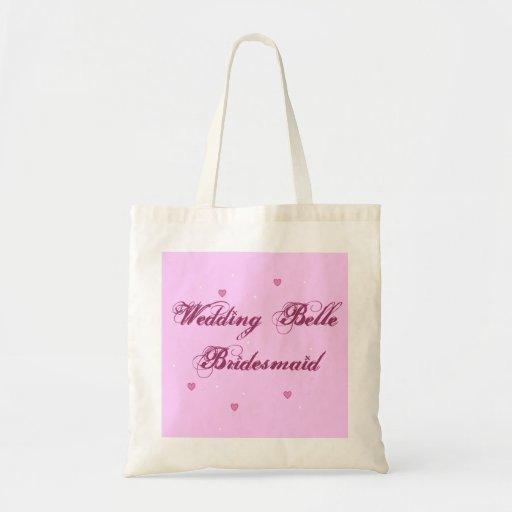 Bolso de la dama de honor de la belleza del boda bolsa