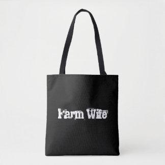 Bolso de la esposa de la granja