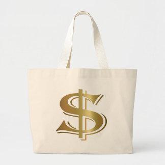 Bolso de la muestra de dólar