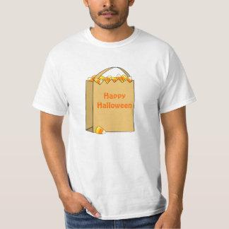 Bolso de la plantilla de Halloween de la diversión Camisetas