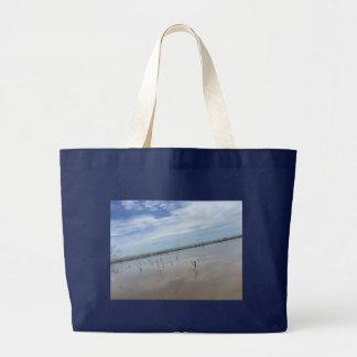 Bolso De Tela Gigante Bolso de la playa de la gaviota