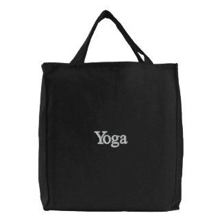 Bolso de la yoga bolsa de tela bordada