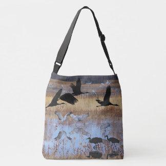 Bolso de los animales de la fauna de los pájaros