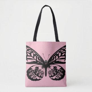 Bolso de los diseñadores con la mariposa
