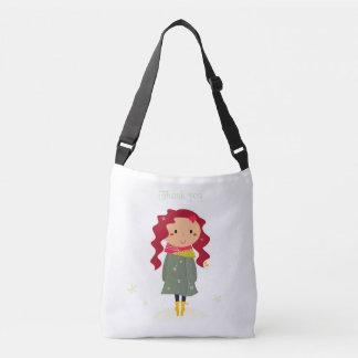 Bolso de los diseñadores con la niña