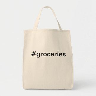 Bolso de los #groceries de la lona bolsas