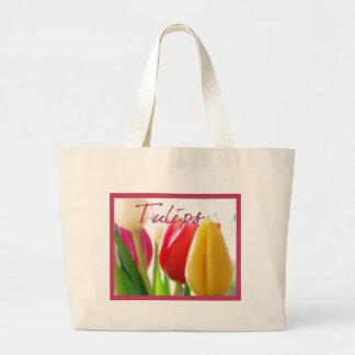 Bolso de los tulipanes bolsas de mano