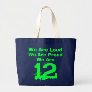 ¡bolso de mano 12! bolsa tela grande