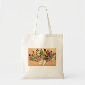 Bolso de Mano Vintage Chicas de La Caleta Cadiz Bolsa Tela Barata
