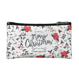 Bolso De Maquillaje El navidad simple con todo elegante enrruella el