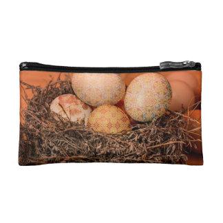 Bolso De Maquillaje Huevos de Pascua rústicos en jerarquía
