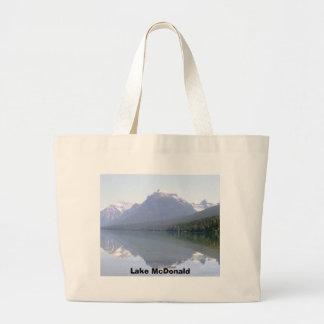 Bolso de McDonald Montana del lago Bolsa Tela Grande