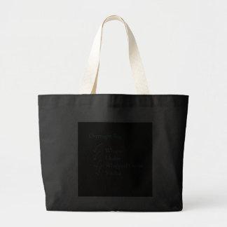 Bolso de noche bolsa tela grande