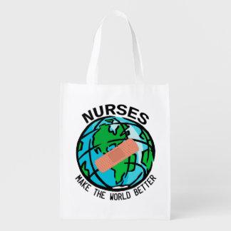 Bolso de Reuseable del mundo de las enfermeras