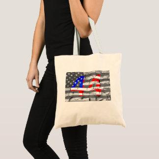 Bolso De Tela 44.o Presidente Obama Fan Flag