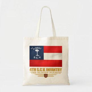 Bolso De Tela 4to Infantería de Carolina del Sur