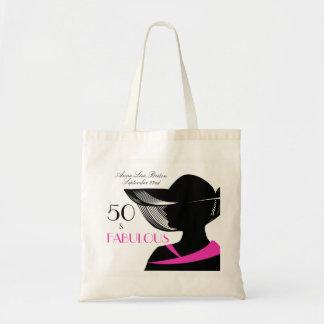 Bolso De Tela 50 y cumpleaños elegante del art déco fabuloso