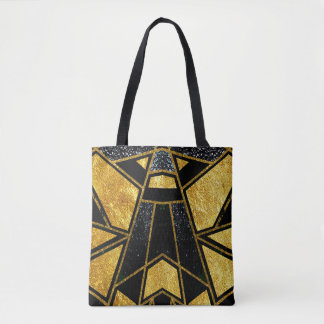 Bolso De Tela #929 geométrico