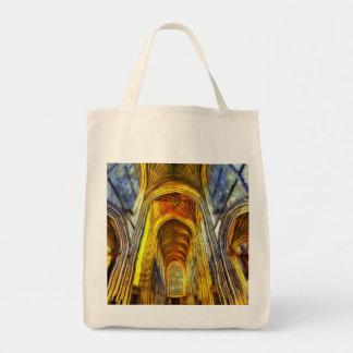 Bolso De Tela Abadía Van Gogh del baño