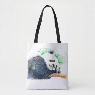 Bolso De Tela Acuarela de la panda