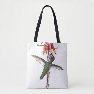 Bolso De Tela Alas del colibrí