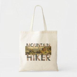 Bolso De Tela Alza SUPERIOR de la montaña