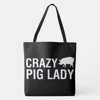 Bolso De Tela Amamos cerdos