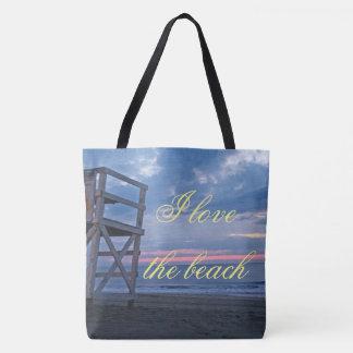 Bolso De Tela Ame la playa