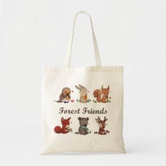Bolso De Tela Amigos de bosque