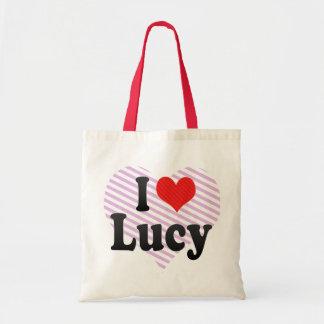 Bolso De Tela Amo a Lucy