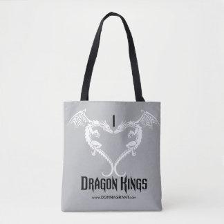 Bolso De Tela Amo el tote de los reyes del dragón