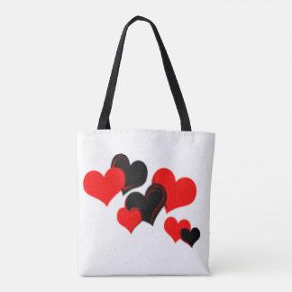 Bolso De Tela Amor de los corazones
