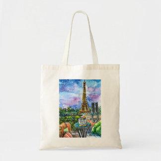 Bolso De Tela Amor en París