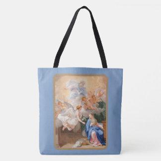 Bolso De Tela Anuncio del arcángel Gabriel de Maria