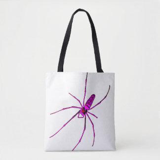 Bolso De Tela Araña grande