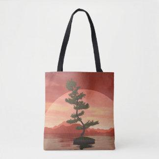 Bolso De Tela Árbol de los bonsais del pino escocés - 3D rinden