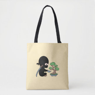 Bolso De Tela Árbol de riego minúsculo de los bonsais de Ninja