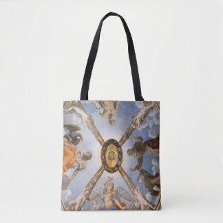 Bolso De Tela Arcángeles y santos del fresco de la capilla de