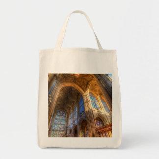 Bolso De Tela Arquitectura de la abadía del baño