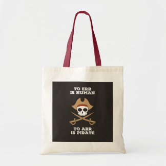 Bolso De Tela Arr tiene gusto de un tote del pirata